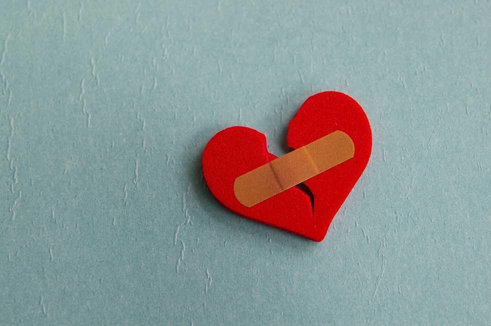 bandaid heart